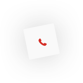 Phone icon, inside a box-shadowed graphic layout box element